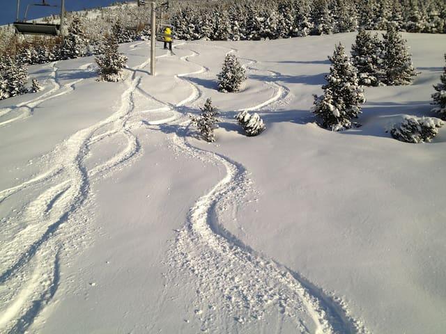 Alpe huez appartement ski au pied - Huez - Leilighet