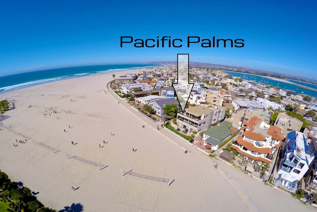 Located in beautiful South Mission Beach San Diego