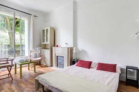 Charming studio in the nice disctrict of Paris 16 - Paris - Appartement