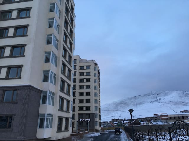 Beautiful Mountain View Apartment in Zaisan!
