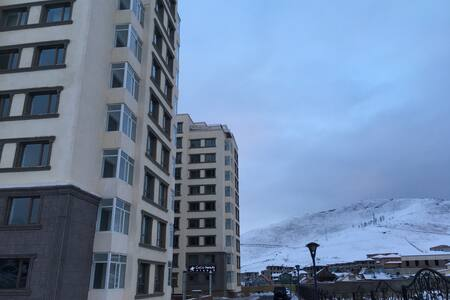 Beautiful Mountain View Apartment in Zaisan!