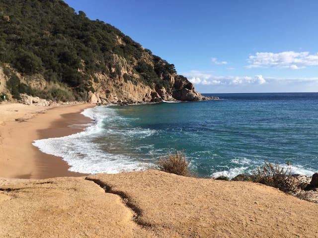 Logement 7pers/plage 3min à pieds - Canyet de Mar - Leilighet