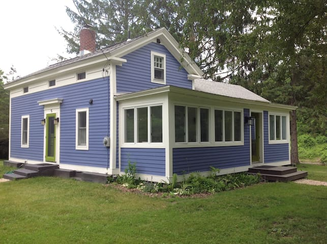 Blue House on the Bend!