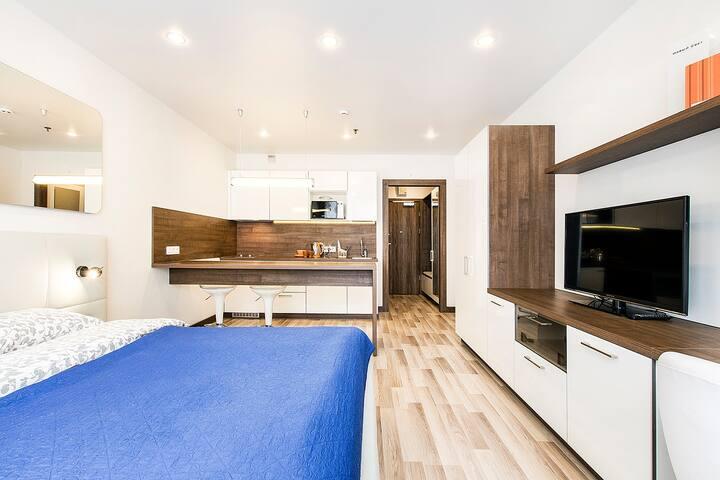 Апартаменты Yes-Apart у метро Проспект Просвещения