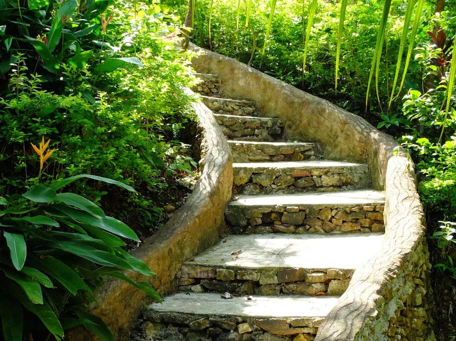 Comfortable stairs