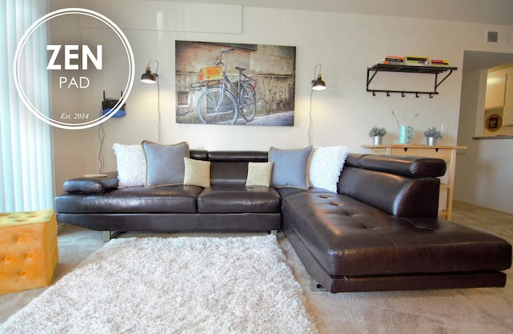 ZEN PAD: 2BR Apt Downtown MtView - 마운틴뷰(Mountain View)