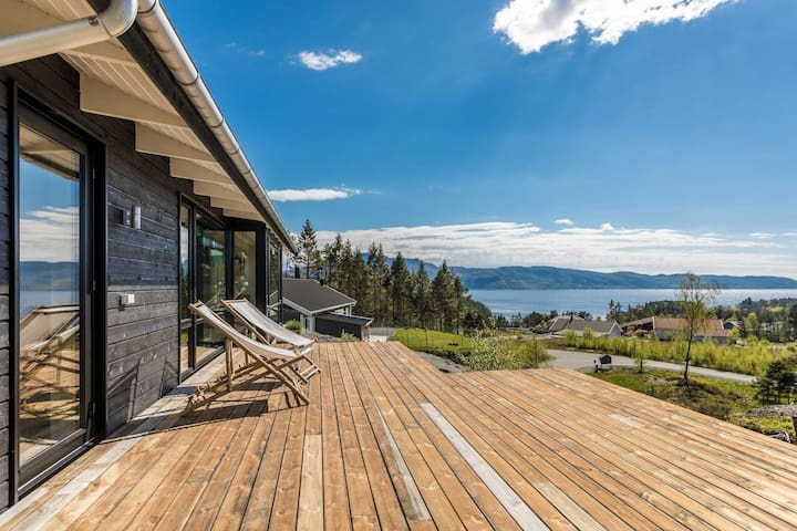 Modern house with an amazing view