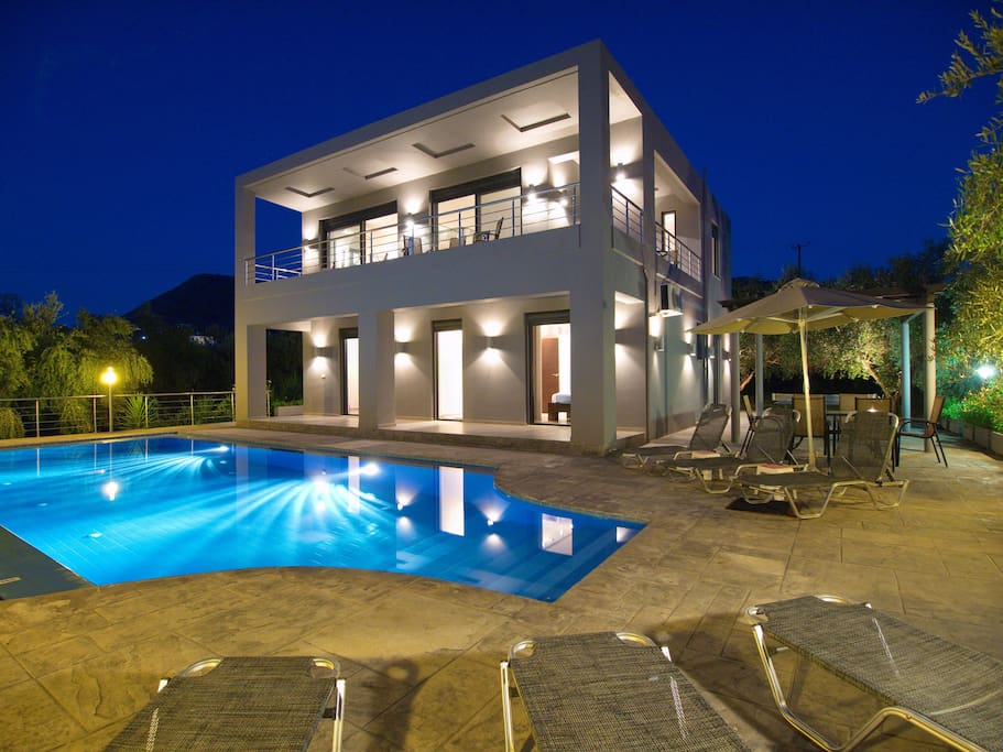 Villas To Rent Almyrida Crete