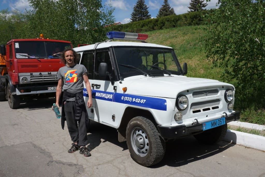 Yes, Police car (Militia)