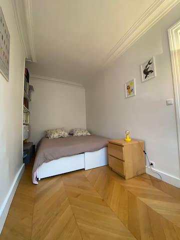 Chambre version lit double 160cm