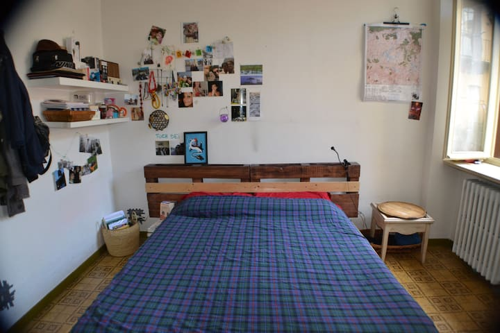 Double room in the historical center