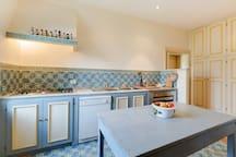 The kitchen (Casale San Carlo)