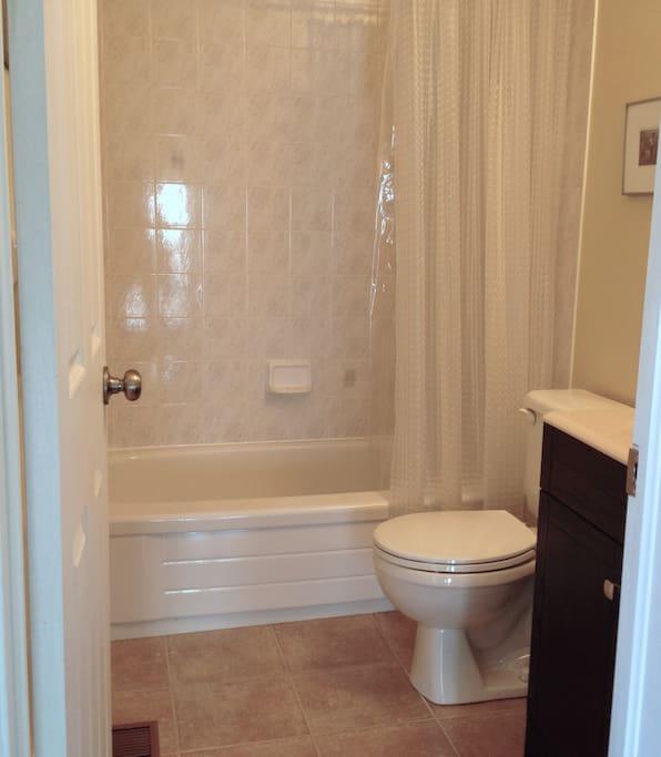 Private 3 piece bathroom