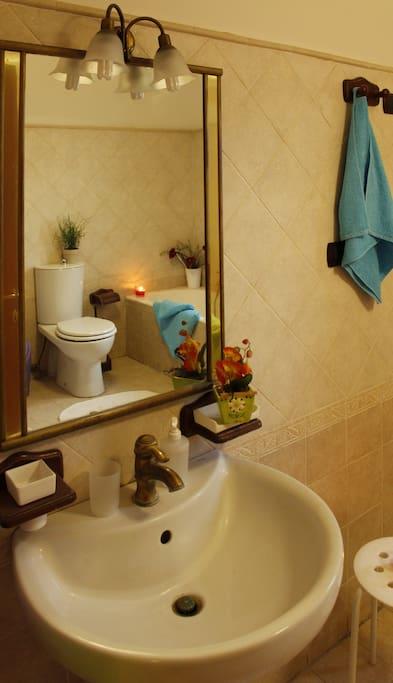 Il bagno in comune