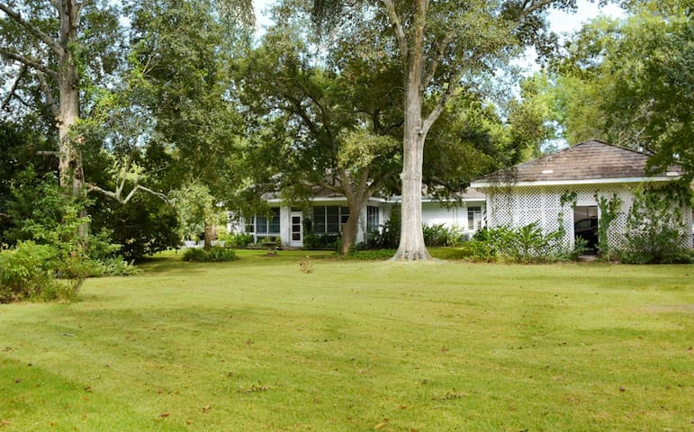 Large family home on Bayou Teche - New Iberia - Hus