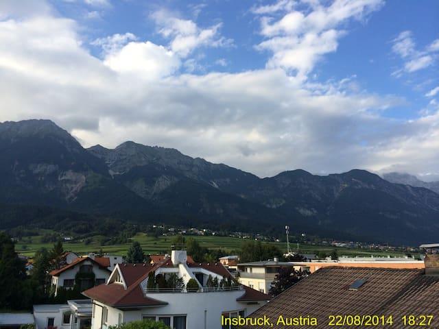 Stilvolles Appartment mit Terrasse und Parkplatz - Innsbruck - Pis