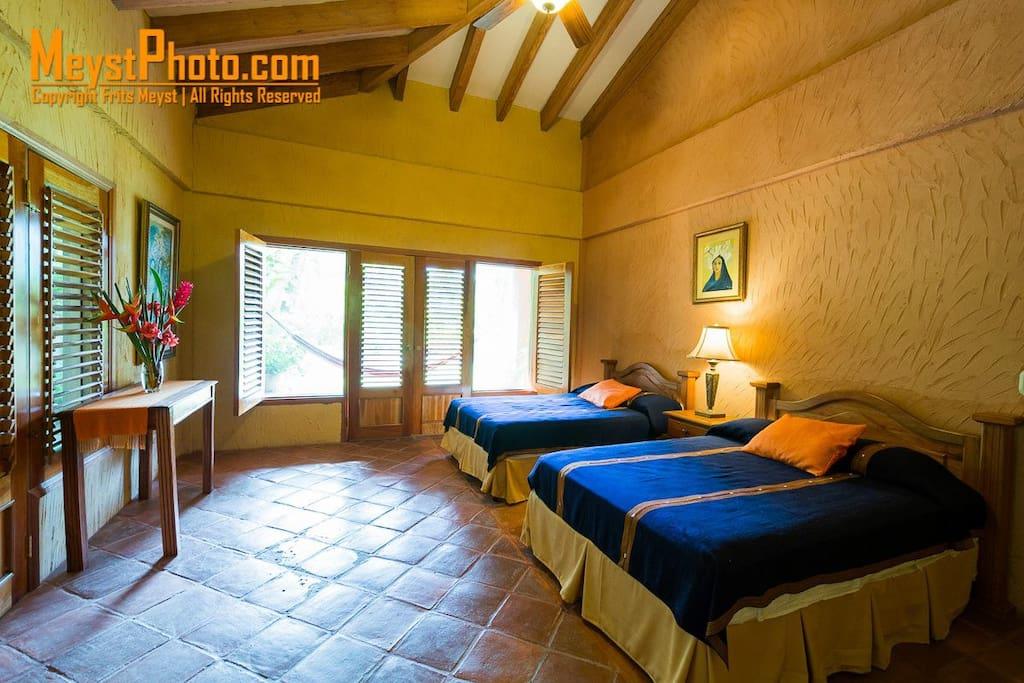 One of the Bedrooms at La Villa de Soledad B&B