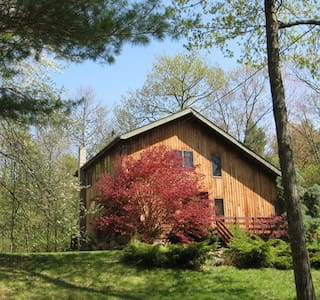 BEAUTY Artist Home in the Catskills - Palenville - Hus