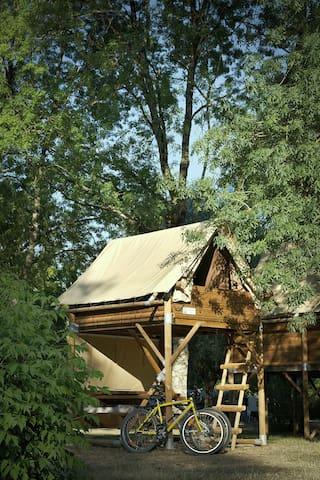 Tente Bivouac - 2 personnes #LoireàVélo #Azay