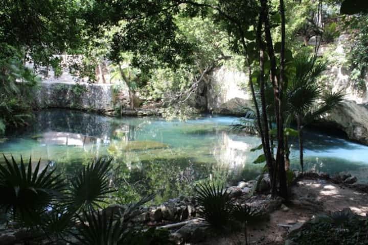 Tulum Akumal  Departamento c/cenote