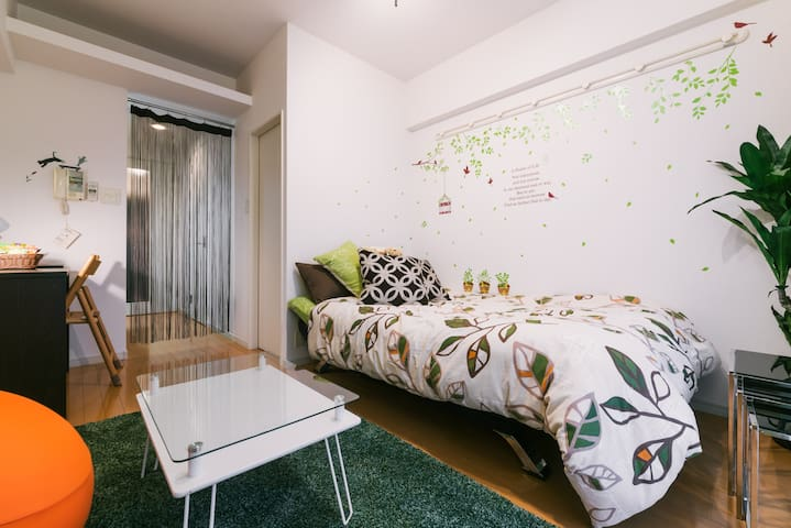5min to Hakata sta,15min to Fukuoka airport by bus - Hakata-ku, Fukuoka-shi - Apartment