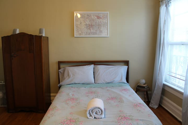 Spacious private room in downtown Portland!