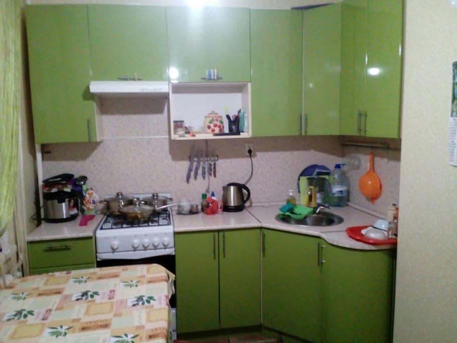 кухня, 9 кв.м.