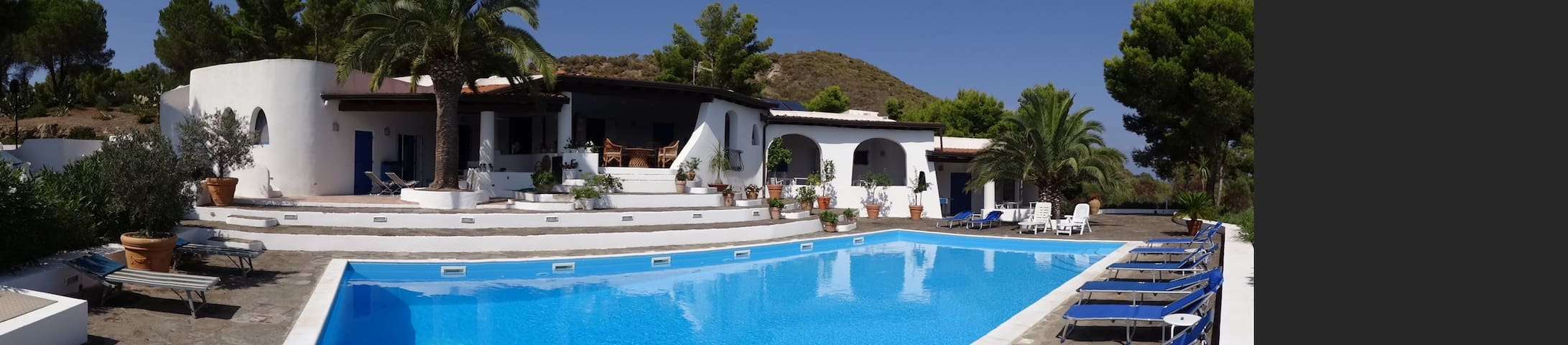 Lussuosa Villa Eoliana con Piscina - Isola di Vulcano - Villa