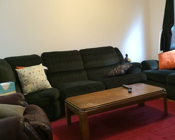 Shared large living rm