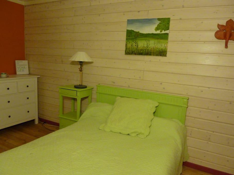 La chambre verte en petite montagne l gna franche comt france for La chambre verte truffaut download