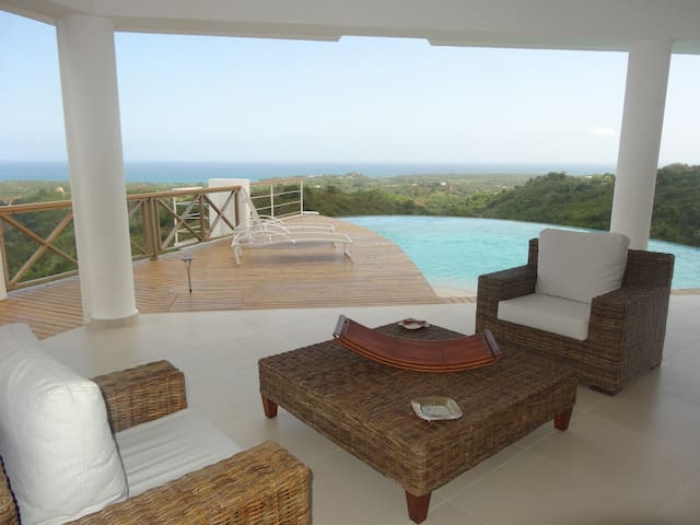 Superb villa sea view for 6 people