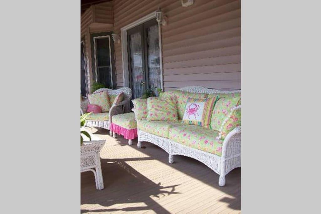our delightful porch