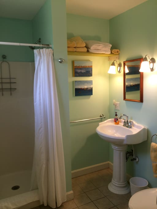 Private Bath for Guest Room #1