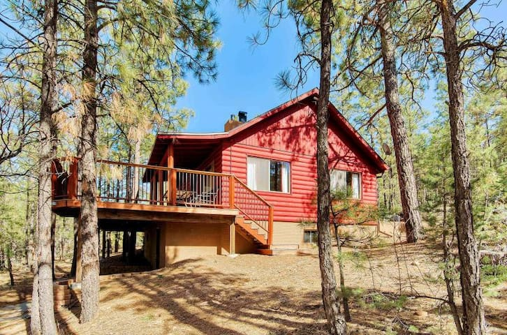 A TRUE RUSTIC CABIN IN THE WOODS!! - Show Low - Cabin