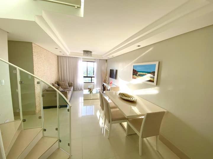 Apartamento duplex completo
