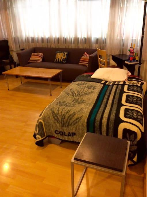 Your super comfy bed :)