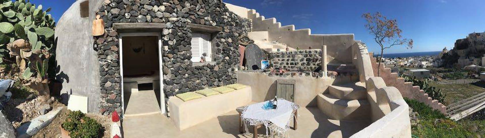 traditioneel zomerhuisje - Emporio - Houten huisje