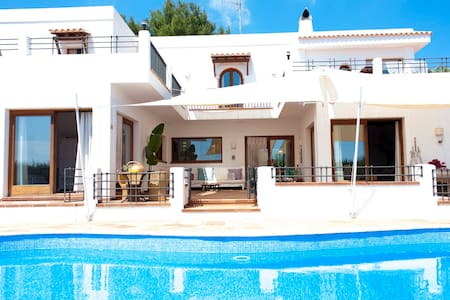 Double bed  villa in IBIZA room 4 - sant Joan de Labritja - Villa
