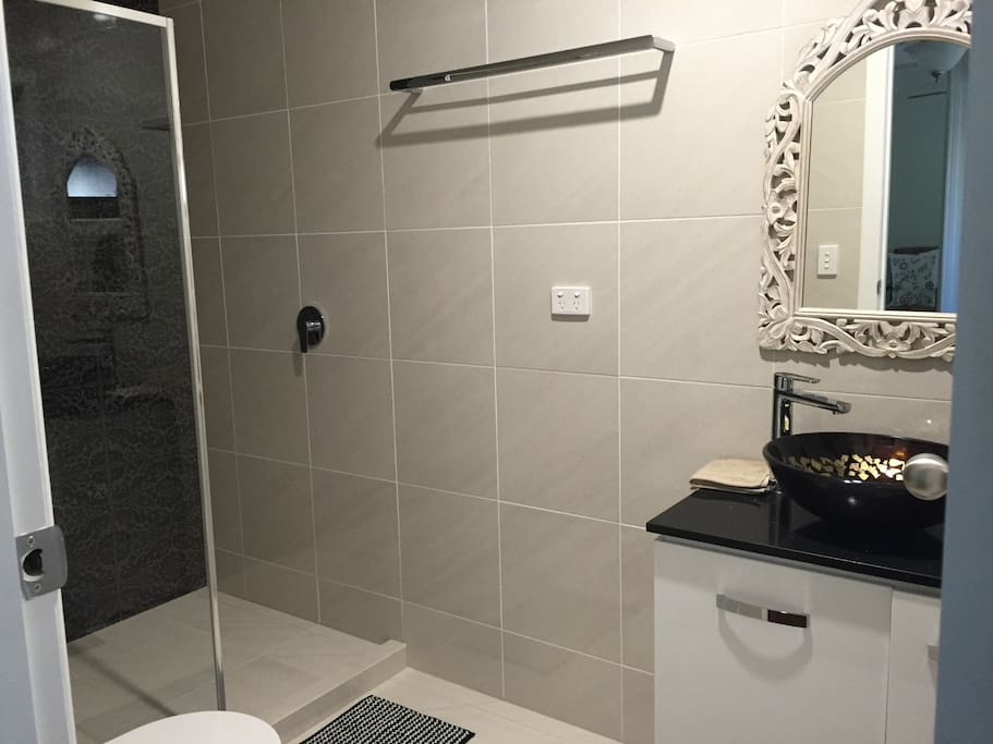 Private Ensuite with walk in shower