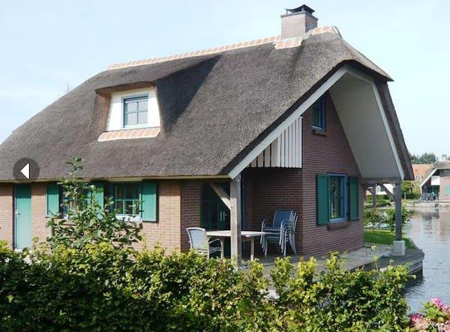 lovely villa near Giethoorn! - Wanneperveen - Casa