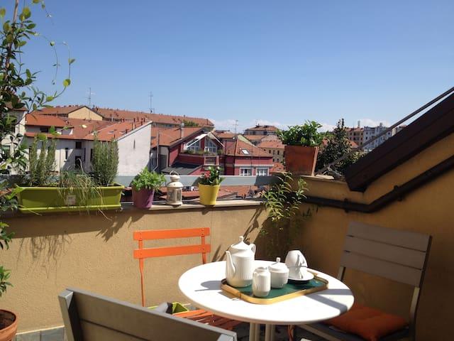 Navigli, charming apt with terrace