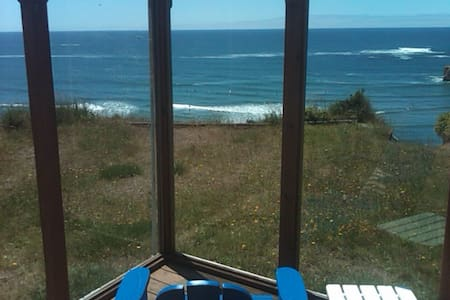 Ocean Front  Surf Shack w/Hot Tub - Otter Rock