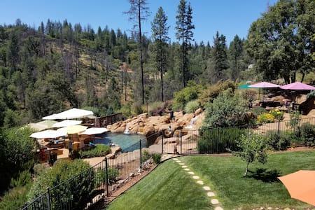 Mini Resort Nestled in the Sierra Foothills Forest
