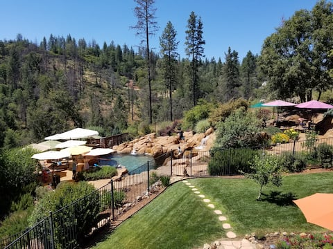 Mini Resort Nestled in the Sierra Foothills Forest