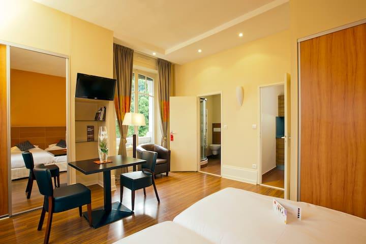 Grand appartement Luxeuil les Bains - Luxeuil-les-Bains - Appartement