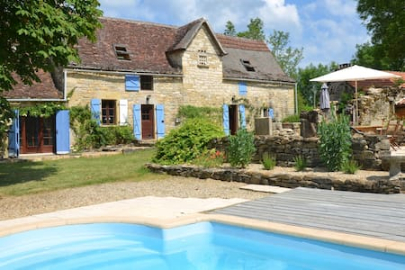 Farmhouse with secluded garden - Caylus