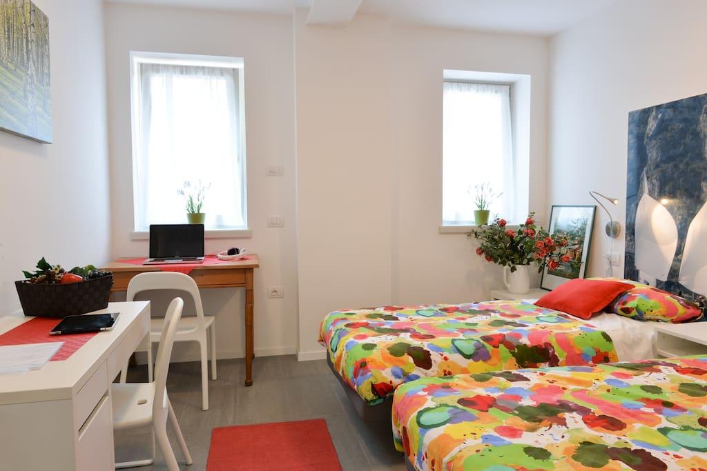 2' Camera matrimoniale/letti separabili - Bedroom
