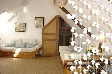 Chambre d'hôtes de charme dans un moulin du XVIIIè - Subles - Bed & Breakfast