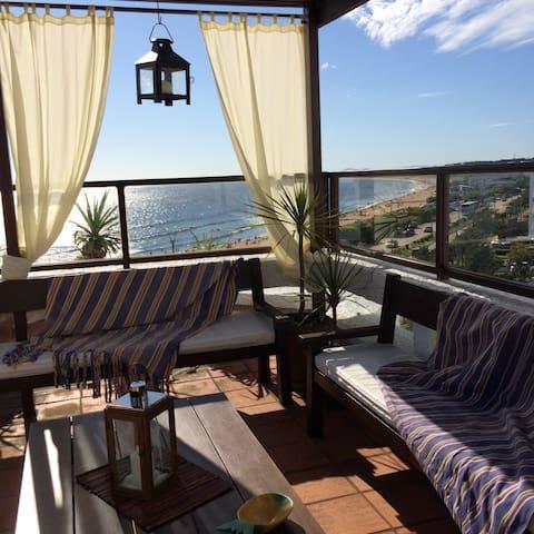 Penthouse sobre el oceano - Punta del Este - Punta del Este - Apto. en complejo residencial