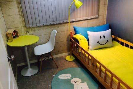 OPEN BIG SALE#1min*HONGDAE*COZY*single room - Mapogu